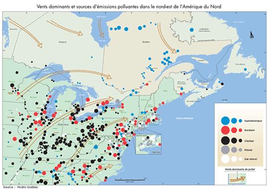 Lacs acides au Québec   2004